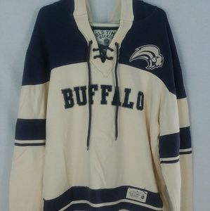 Buffalo Sabres old time hockey throwback jersey